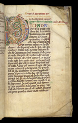 A Decorated Letter, in Augustine's Enchiridion